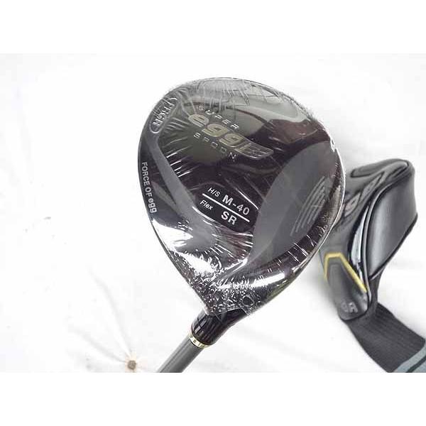 送料無料 新品 未使用品  プロギア 16 金 スーパー egg スプーン フェアウェイウッド カーボン 3w 16度 M40 高反発