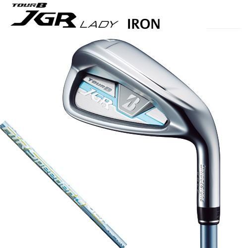 (セール)(レディース)2017-2018モデル ブリヂストンゴルフ TOUR B JGR LADY IRON(AiR Speeder L for Iron シャフト)アイアン5本セット (#7〜9,PW,SW)