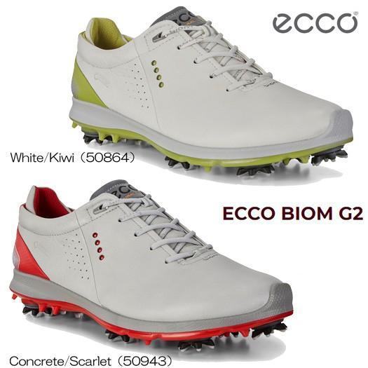 (セール)ECCO エコー バイオム G2(130664)メンズ ゴルフシューズ ソフトスパイク