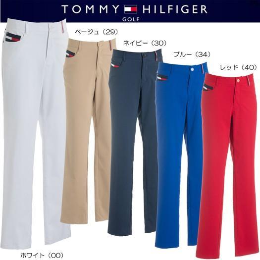 トミーヒルフィガー ゴルフ ベーシック ストレート パンツ(THMA828)2018春夏モデル