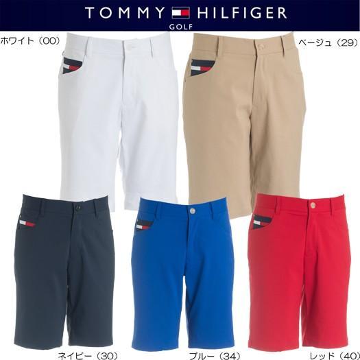 (セール)トミーヒルフィガー ゴルフ ベーシック ショートパンツ(THMA831)2018春夏モデル
