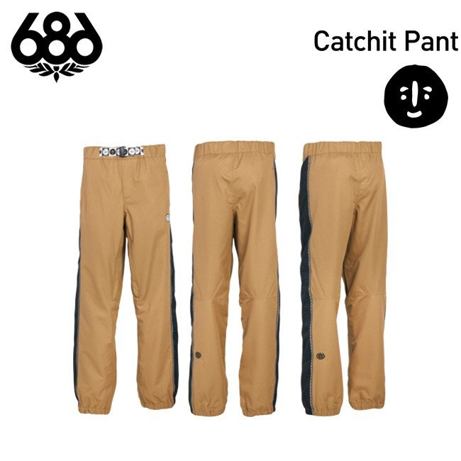ウェア パンツ 686 SIX EIGHT SIX Catchit Pant MENS メンズ スノボ FOREST BEILEY