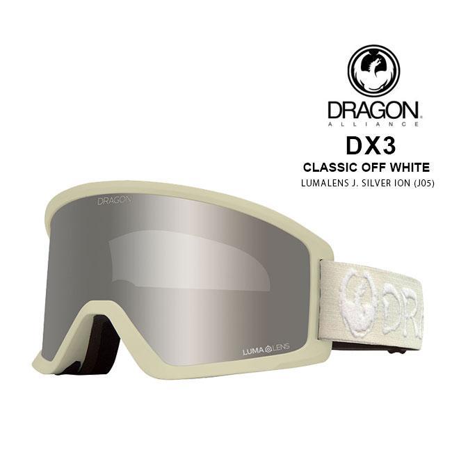 ドラゴン ゴーグル DRAGON DX3 ECHO 銀 / LL J.赤 ION 19-20 JAPAN FIT 国内正規品 スノボ スキー