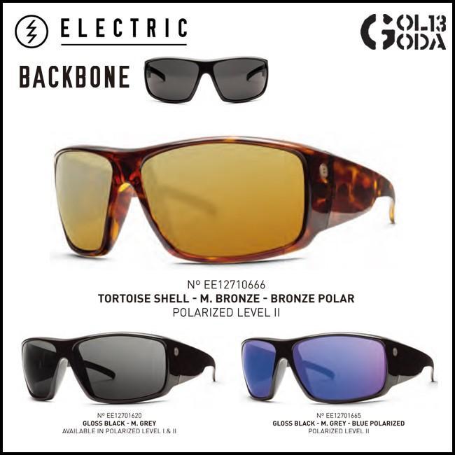 ELECTRIC BACK BONE BB26 M2 POLAR 偏光レンズ ポーラレンズ エレクトリック LIFESTYLEサングラス Sunglass