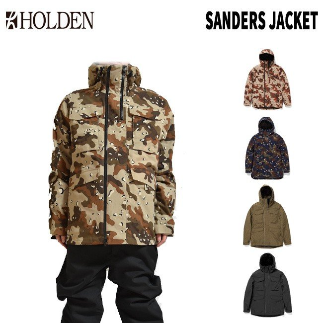 予約 ホールデン HOLDEN M's SANDERS JACKET 19-20 サンダーズ ジャケット スノボーウェア スノーボードウェアー メンズ