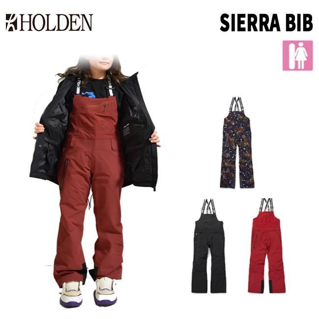予約 ホールデン HOLDEN W'S SIERRA BIB PANT 19-20 ビブ パンツ レディース スノーボードウェアー SNOWBOARD WEAR