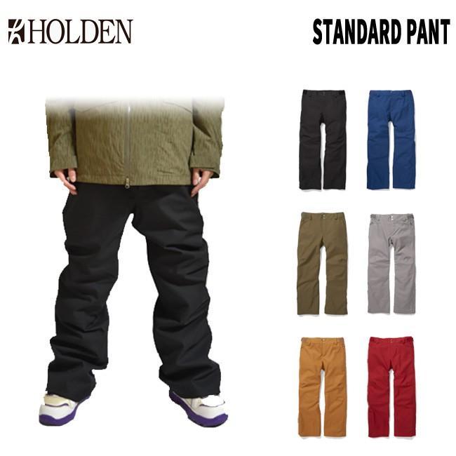 予約 ホールデン HOLDEN M's Standard Pant 19-20 スタンダードパンツ スノボーウェア スノーボードウェアー メンズ ス