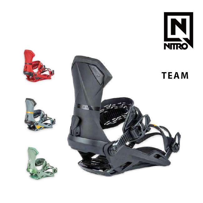 予約 ナイトロ ビンディング NITRO TEAM チーム 19-20 MENS BINDING スノーボード SNOWBOARD