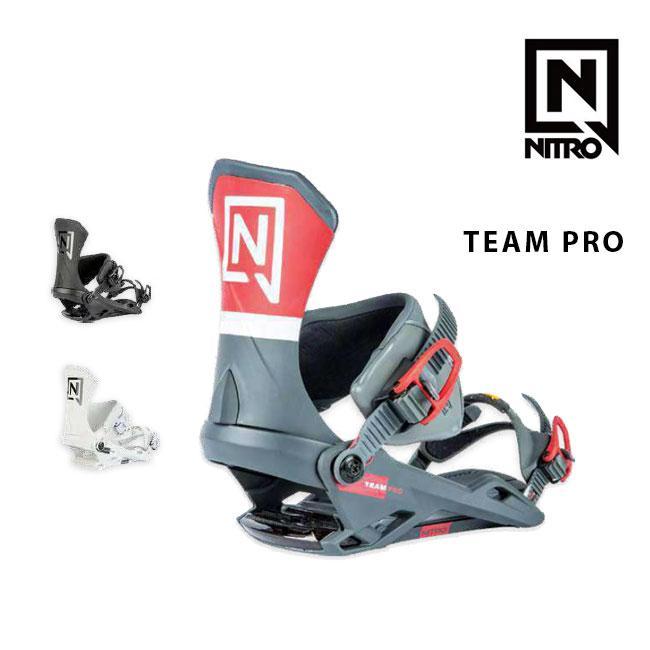 予約 ナイトロ ビンディング NITRO TEAM PRO チーム プロ 19-20 MENS BINDING スノーボード バインディング