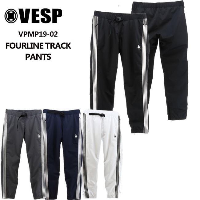 べスプ 19-20モデル VESP FOURLINE TRACK PANTS (VPMP19-02) パンツ スノーボード ウェアー スノボーウェア