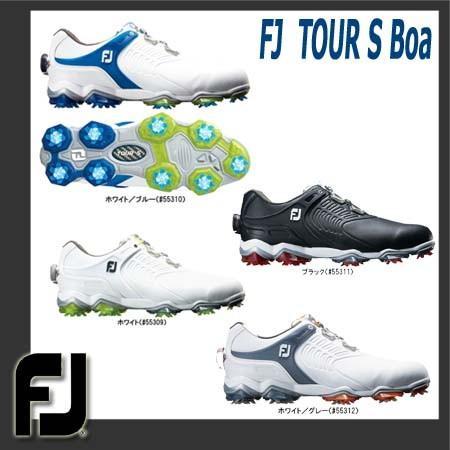 【2018年発売】フットジョイ FOOTJOY FJツアーエスボア ゴルフシューズ FJ TOUR S Boa