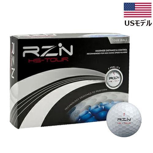 【横田真一プロYouTubeで推奨!】【US輸入品】 レジン HSツアー ゴルフ ボール 1ダース [12球入り] RZN HS-TOUR