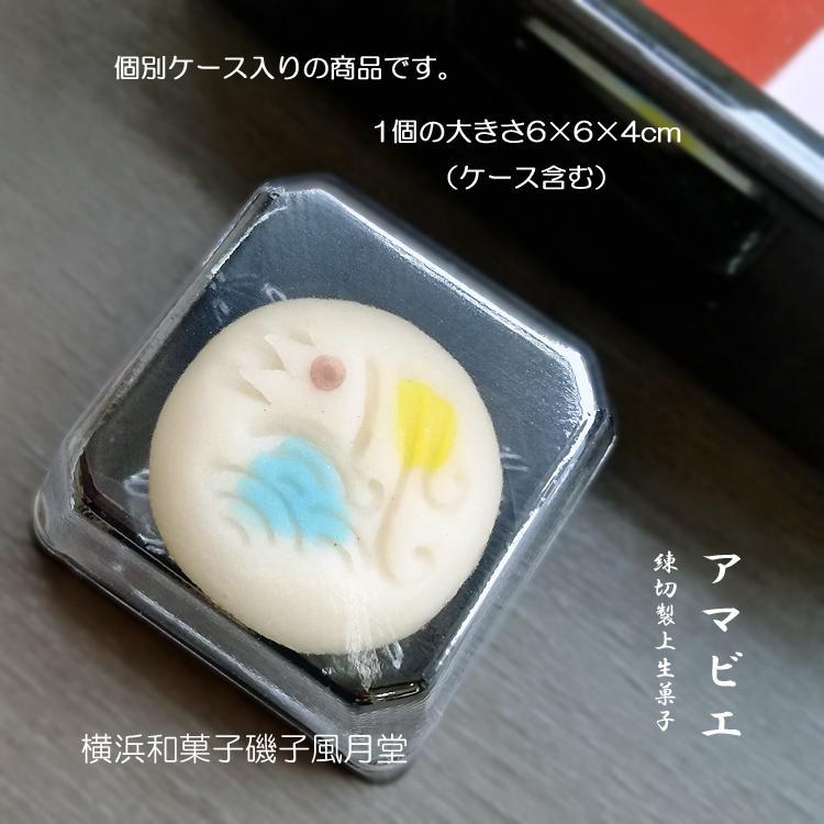アマビエ様と秋の和菓子詰め合わせ 上生菓子 6個入り ギフト ご贈答用化粧箱入り*受注生産品|gomadaremochi|06