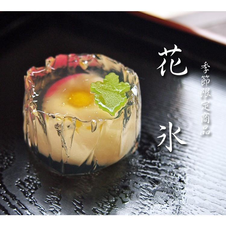 錦玉  練り切り 水中花 上生菓子 花氷 はなこおり 個包装 1個 *12個以上でご注文可 gomadaremochi 02