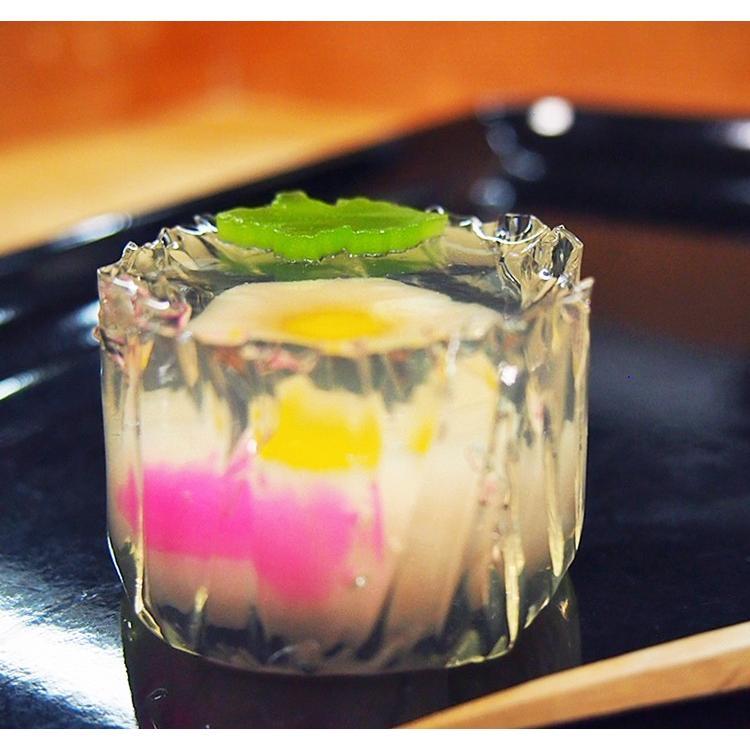 錦玉  練り切り 水中花 上生菓子 花氷 はなこおり 個包装 1個 *12個以上でご注文可 gomadaremochi 03