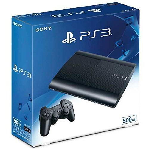 【新品】PlayStation (R) 3 チャコール・ブラック 500GB CECH-4300C