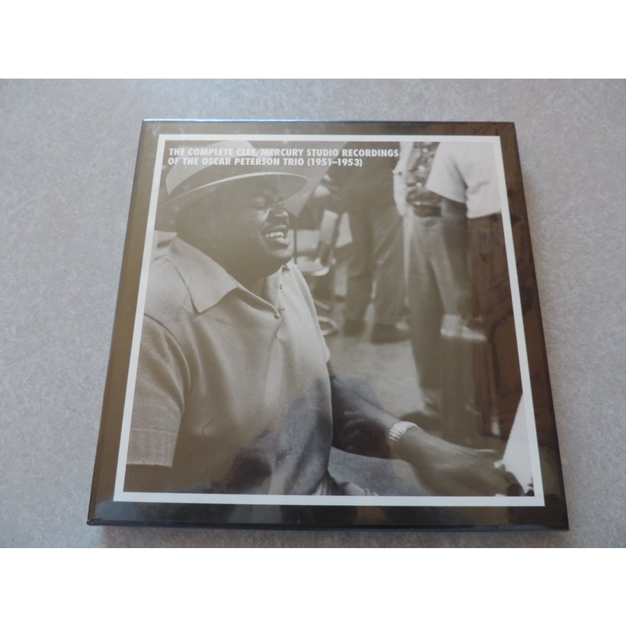 The Oscar Peterson Trio / The Complete Clef/Mercury Studio Recordings (1951-1953) : 7 CDs // CD