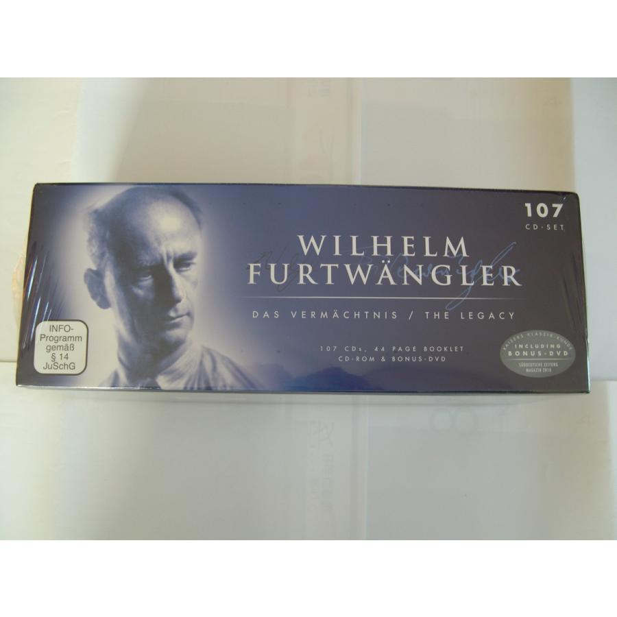 Wilhelm Furtwangler / The Legacy : 107 CDs // CD