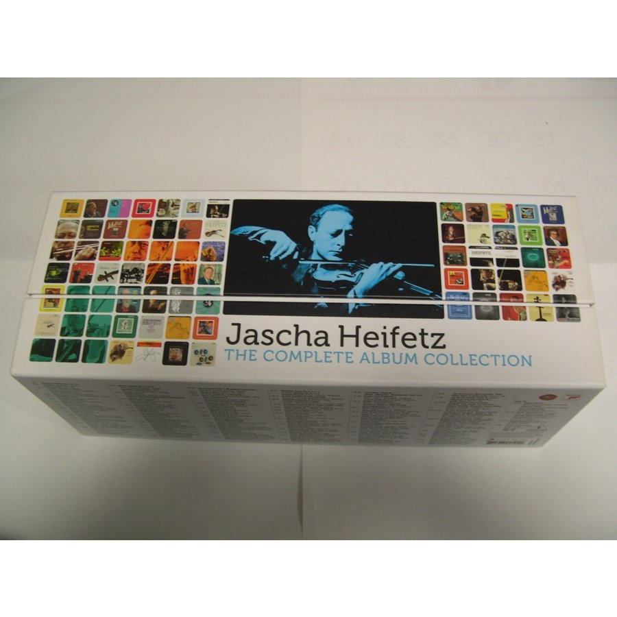 Jascha Heifetz / The Complete Album Collection : 103 CDs // CD