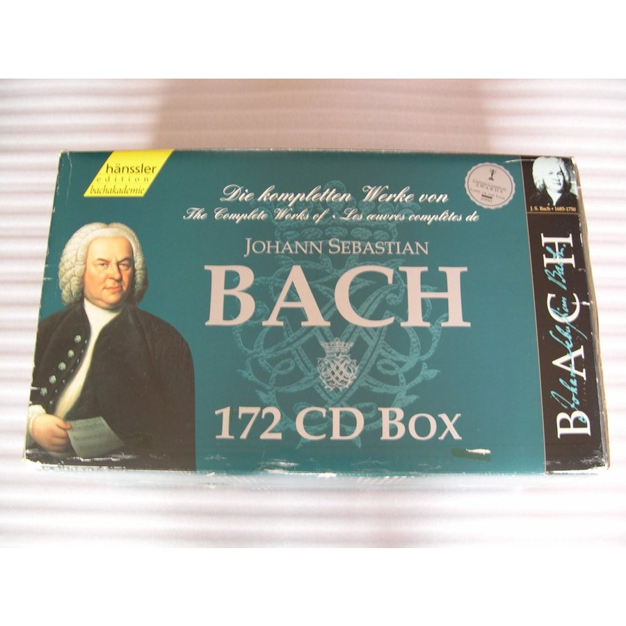 Complete Works of J. S. Bach : 172 CDs // CD
