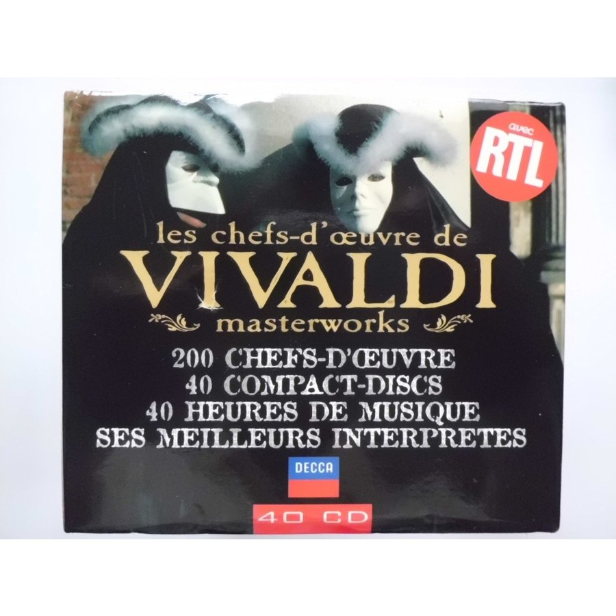 Vivaldi / MasterWorks  Op. 1 ~ Op. 12 : 40 CDs // CD