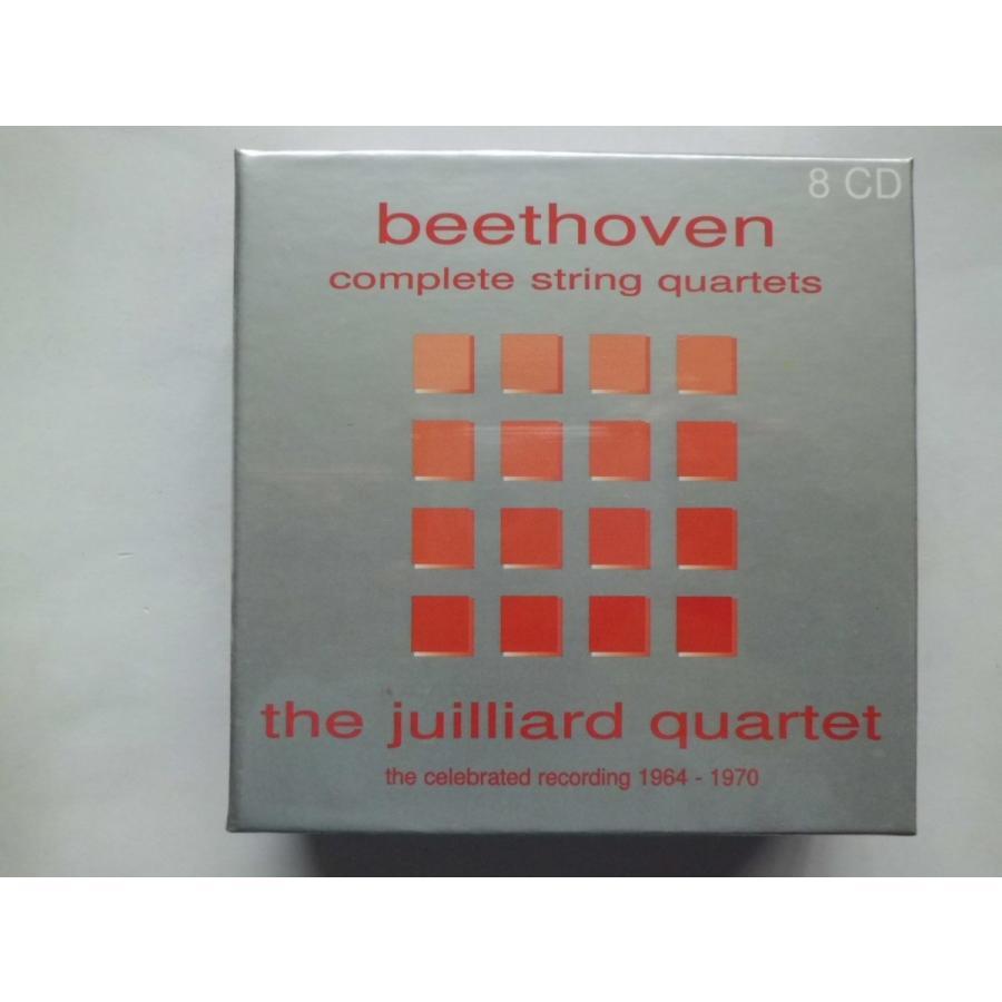 Beethoven / Complete String Quartets / Juilliard Quartet : 8 CDs // CD