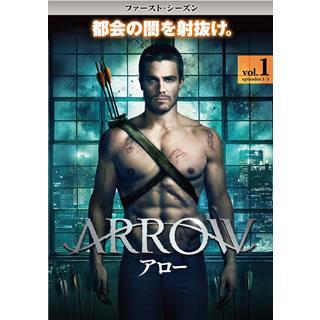 ARROW / アロー ファースト・シーズン Vol.1(DVD)(2013/8/21)|good-v