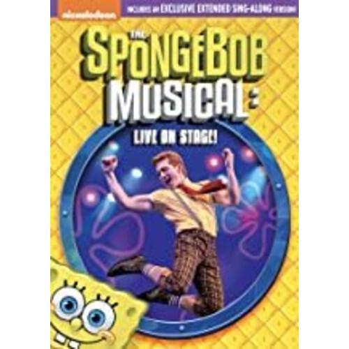 ●手数料無料!! 再販ご予約限定送料無料 SPONGEBOB SQUAREPANTS: MUSICAL - LIVE 11 2020 ON 3発売 輸入盤DVD