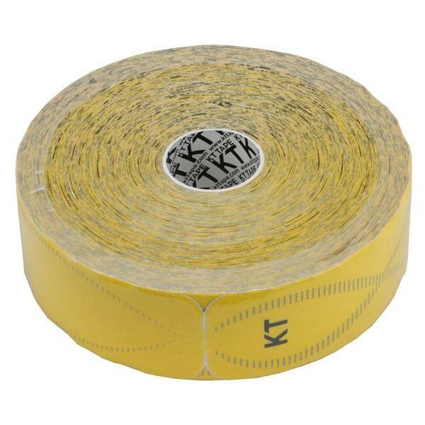 テーピング/キネシオロジーテープ 〔イエロー〕 幅50mm ジャンボロールタイプ 150枚入り 『KT TAPE PRO KTテーププロ』