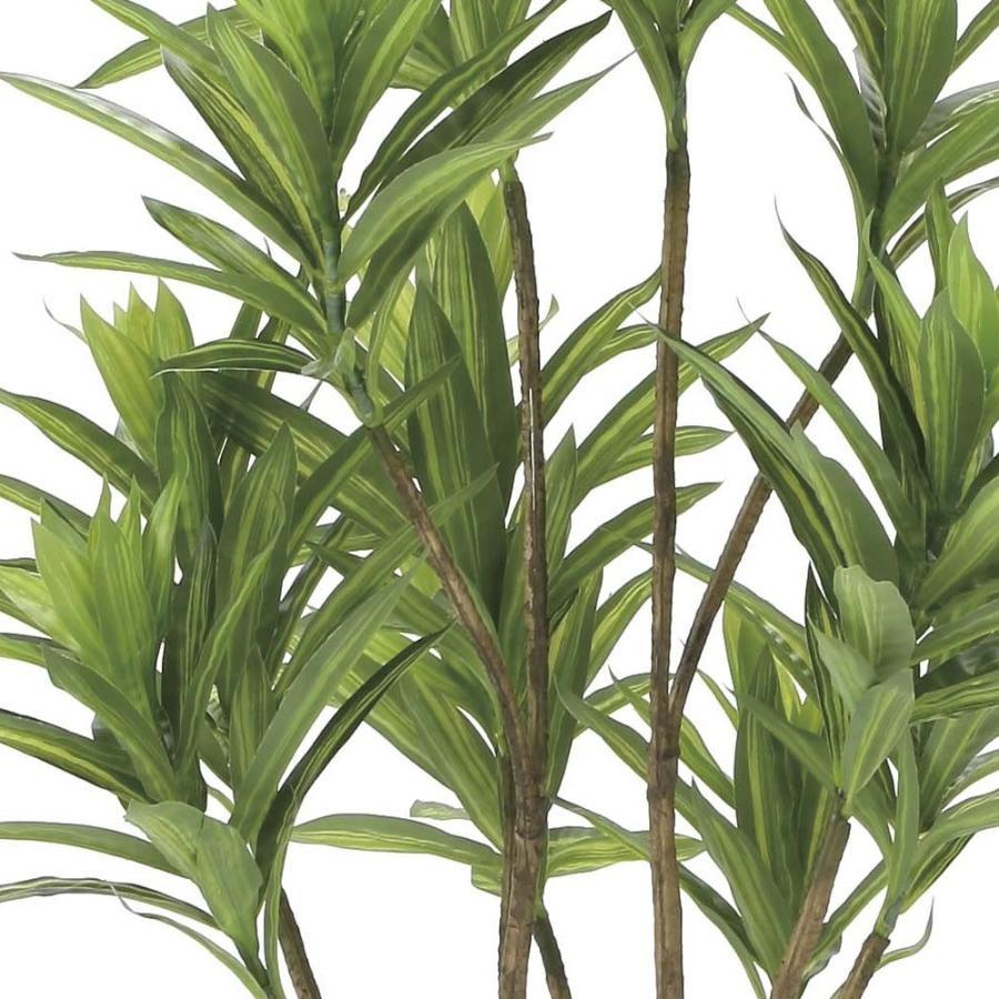 造花 観葉植物 「フレッシュ・ドラセナ 120cm」 光触媒 空気清浄 インテリア グリーン 38|goodfellow|02