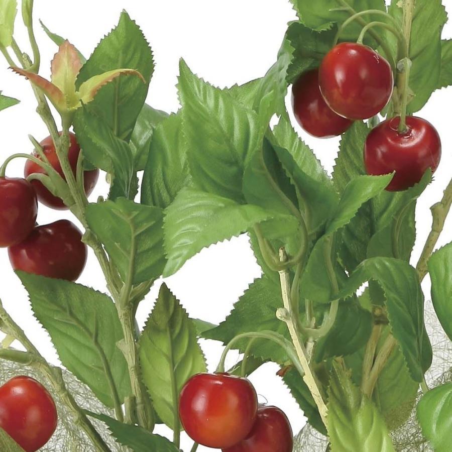 造花 観葉植物 「サクランボ 44cm」 光触媒 空気清浄 インテリアグリーン 56|goodfellow|02