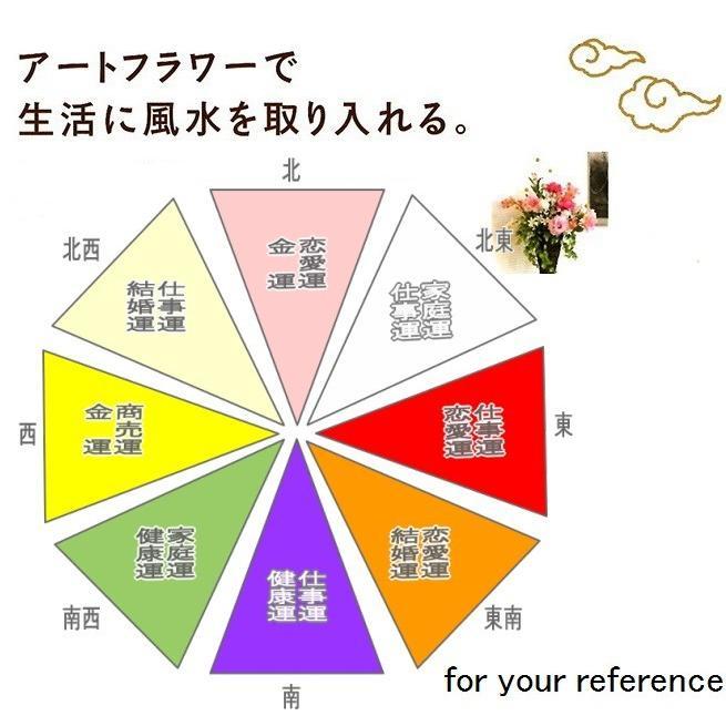 アートフラワー 光触媒 造花 アレンジ /ゴールドストライク 43A7063|goodfellow|05