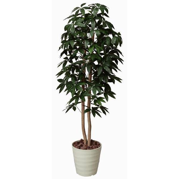 インテリアグリーン 造花 光触媒 人工植物 観葉植物 鉢植え /パキラツリー160cm 170A30014 goodfellow