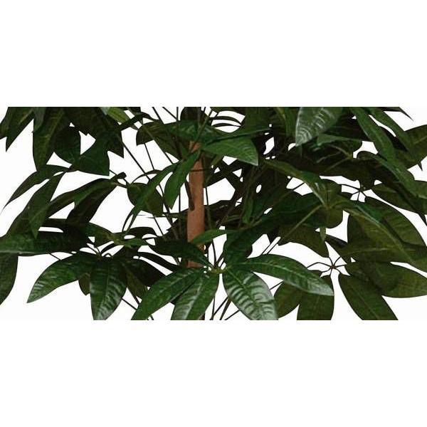 人工観葉植物 鉢植え インテリアグリーン 光触媒 造花 /パキラトピアリー150cm 194B25026 goodfellow 02