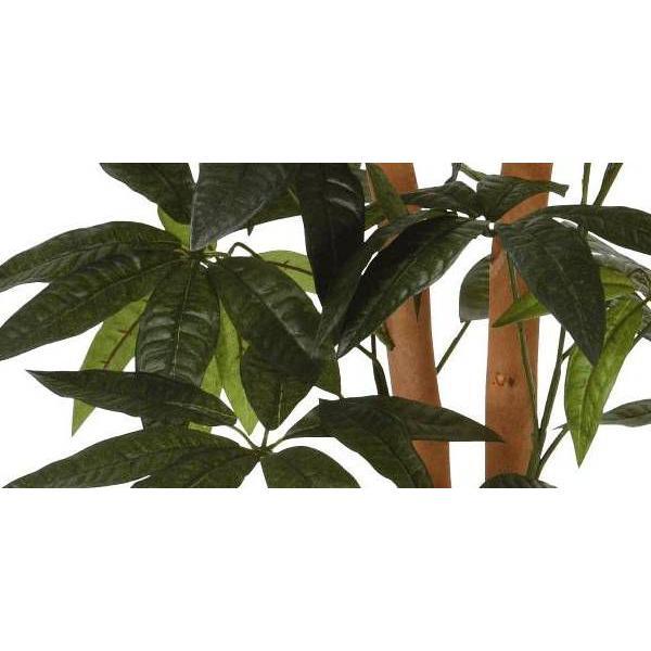 人工観葉植物 鉢植え インテリアグリーン 光触媒 造花 /パキラ90cm 209A10014|goodfellow|02