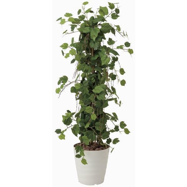 造花 観葉植物 光触媒 インテリアグリーン 鉢植え /グレープツリー150cm 359B350|goodfellow