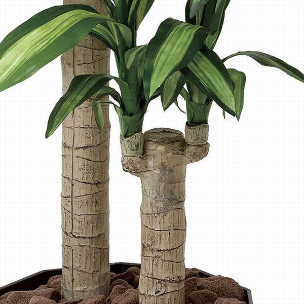 人工観葉植物 鉢植え インテリアグリーン 光触媒 造花 /幸福の木110cm|goodfellow|02