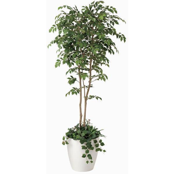 造花 観葉植物 光触媒 インテリアグリーン 鉢植え /マウンテンアッシュ180cm|goodfellow