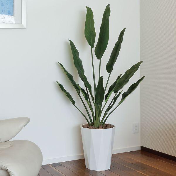 造花 光触媒 人工植物 観葉植物 鉢植え インテリアグリーン /トラベラーズパーム155cm|goodfellow