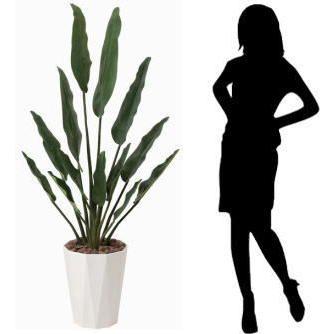 造花 光触媒 人工植物 観葉植物 鉢植え インテリアグリーン /トラベラーズパーム155cm|goodfellow|03