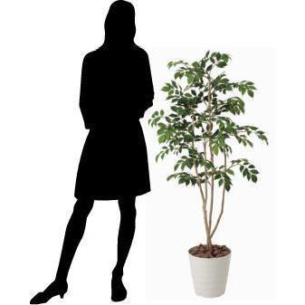 造花 観葉植物 光触媒 インテリアグリーン 鉢植え /マウンテンアッシュ 130cm|goodfellow|03