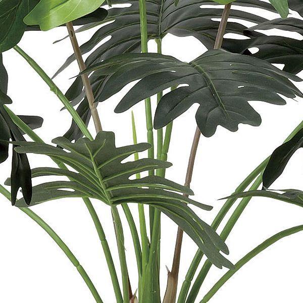 人工観葉植物 鉢植え インテリアグリーン 光触媒 造花 /セローム130cm|goodfellow|02