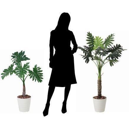 人工観葉植物 鉢植え インテリアグリーン 光触媒 造花 /セローム130cm|goodfellow|03