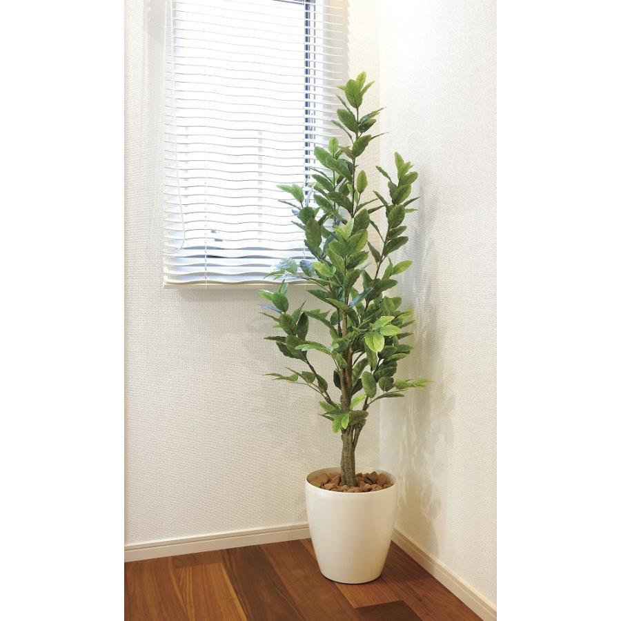 造花 観葉植物 レモン125cm 光触媒 空気清浄 インテリア グリーン 鉢植え goodfellow 03