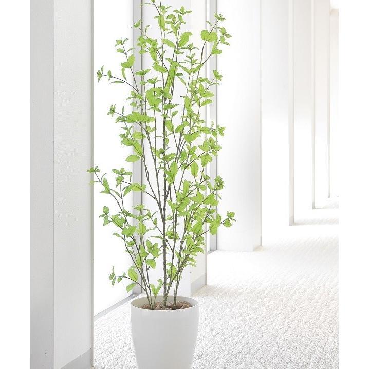 造花 観葉植物 ユーカリ130cm 光触媒 空気清浄 インテリア グリーン 鉢植え|goodfellow
