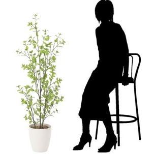 造花 観葉植物 ユーカリ130cm 光触媒 空気清浄 インテリア グリーン 鉢植え|goodfellow|03