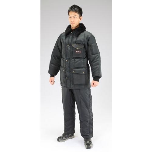 ESCO[ XL] 防寒服上下セット(Navy)[EA915GM-8]