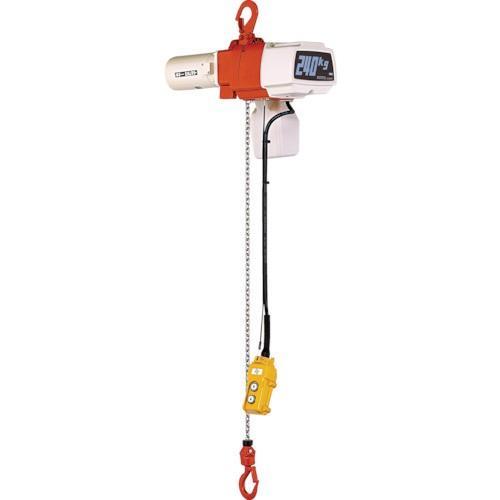 キトー セレクト電気チェーンブロック1速 単相200V 100kg(S)x3m [EDX10S]
