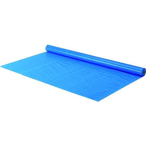 TRUSCO 防炎シートα軽量 ブルー ロールタイプ幅1.8mX長さ50.0m [GBSRAB]