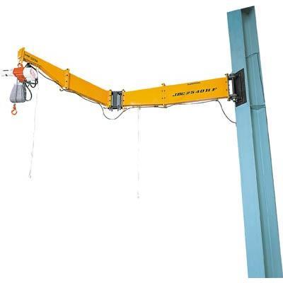 [代引不可] スーパー 柱取付式ジブクレーン(ボルト・ナット型)容量:160kg 【JBC1520HF】